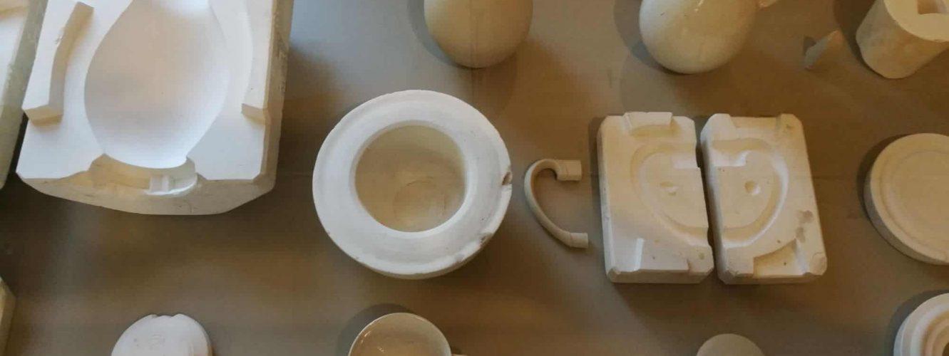 Casting moulds and results Workshop Museum Dornburg